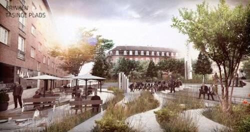 New climate-resilient neighbourhood in Østerbro, Copenhagen - Home page - Water Sensitive Urban ...